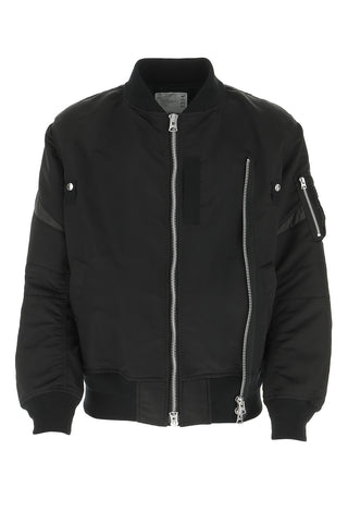 Sacai Zip Up Bomber Jacket