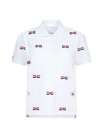 Thom Browne Bow Detail Polo Shirt