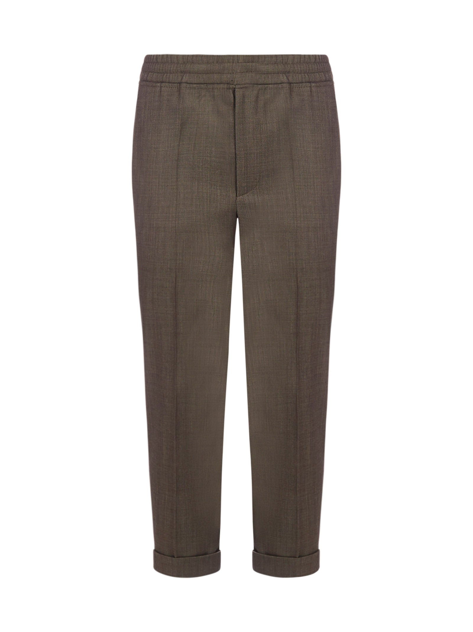 NEIL BARRETT NEIL BARRETT TAPERED SLIM FIT PANTS