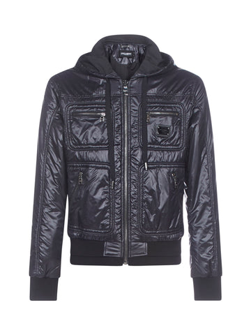 Dolce & Gabbana Logo Hooded Jacket