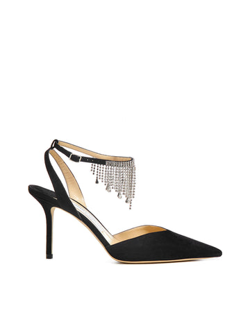 Jimmy Choo Birtie Backless Pumps