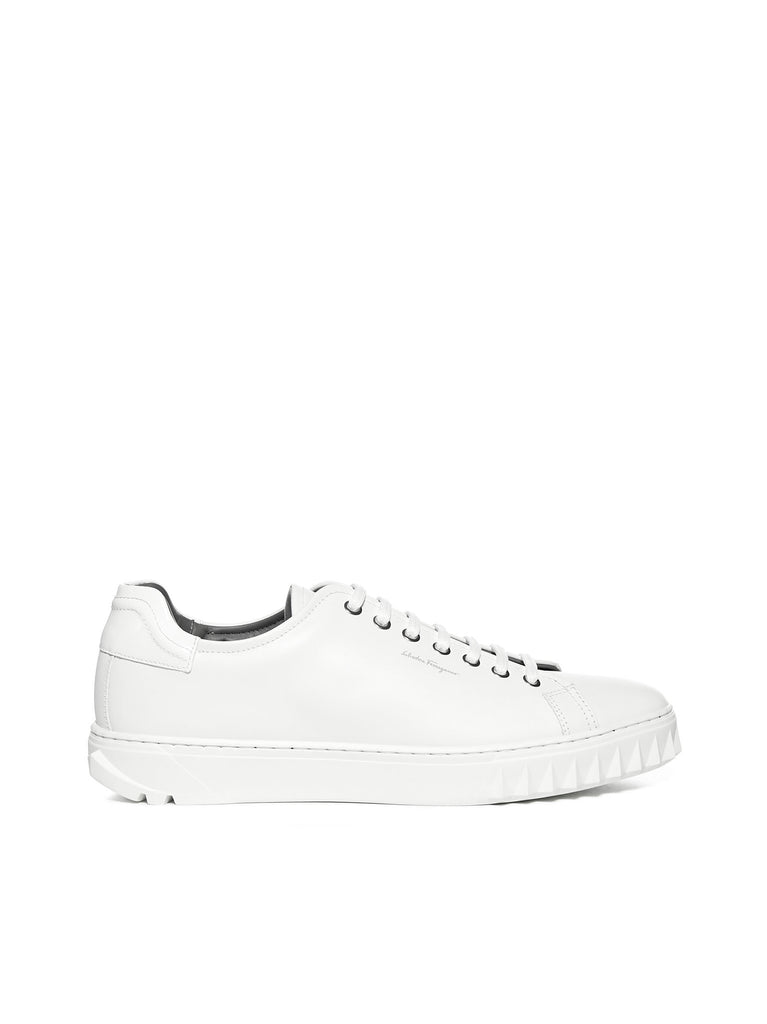 SALVATORE FERRAGAMO SALVATORE FERRAGAMO LACE UP SNEAKERS
