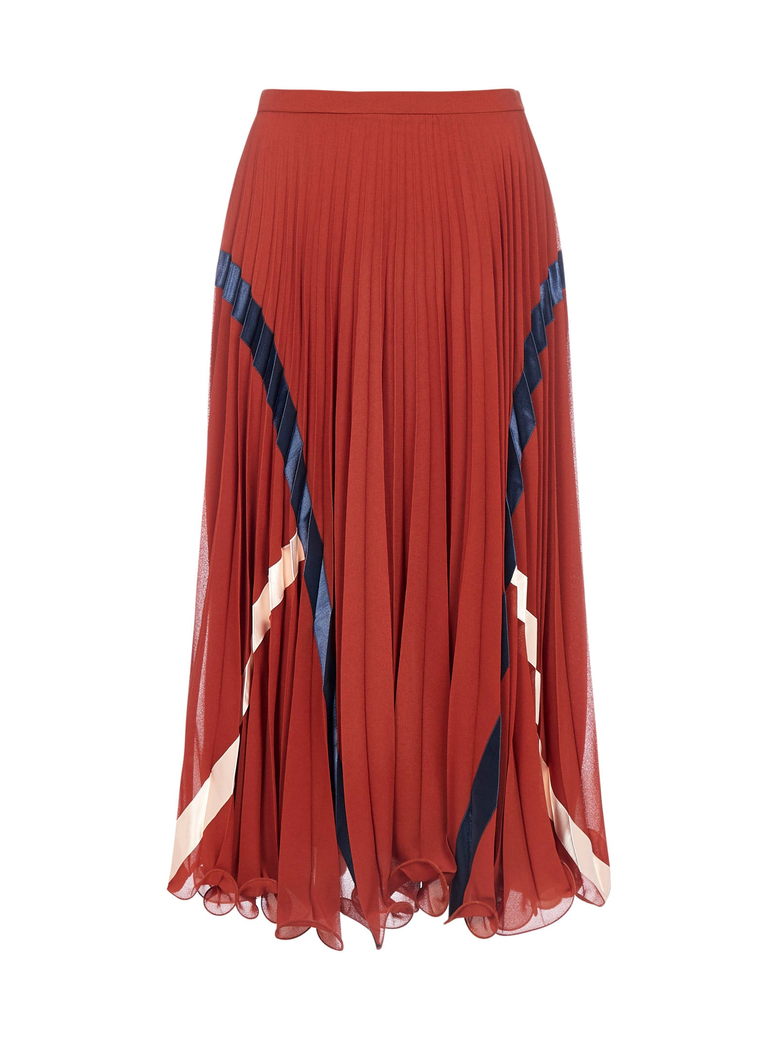 SEE BY CHLOÉ SEE BY CHLOÉ PLEATED MIDI SKIRT