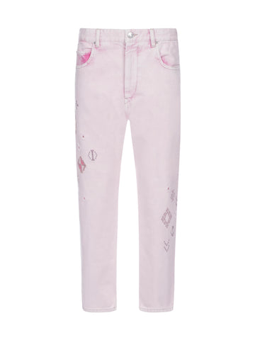 Isabel Marant Étoile Embroidered Jeans
