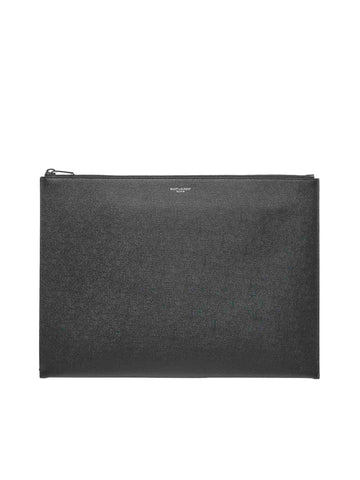 Saint Laurent Logo Zipped Pouch