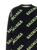 Balenciaga Logo Knitted Sweater