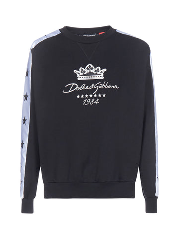 Dolce & Gabbana Logo Embroidered Jumper
