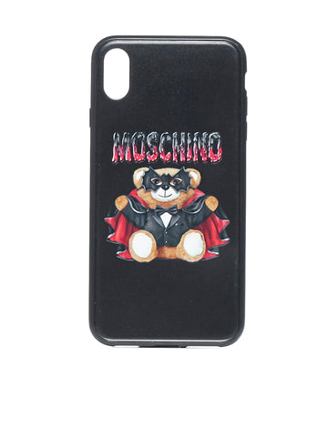 Moschino Bat Teddy iPhone XS Max Phone Case