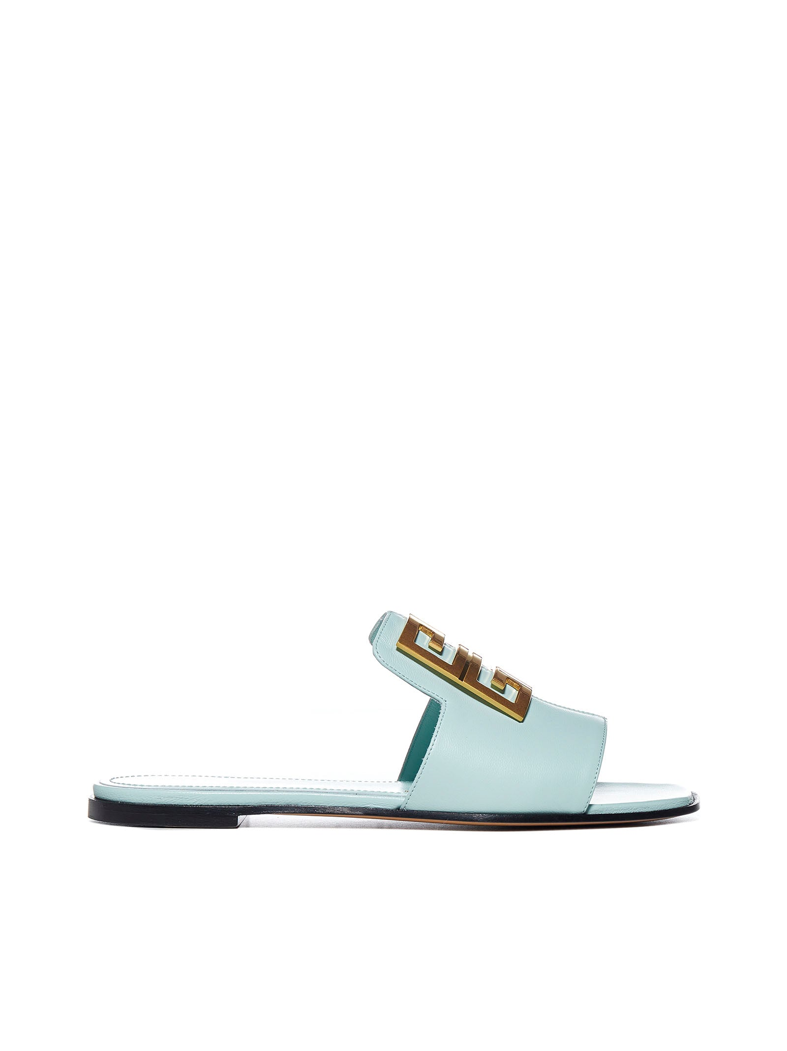 Givenchy Leathers GIVENCHY 4G BUCKLE SANDALS