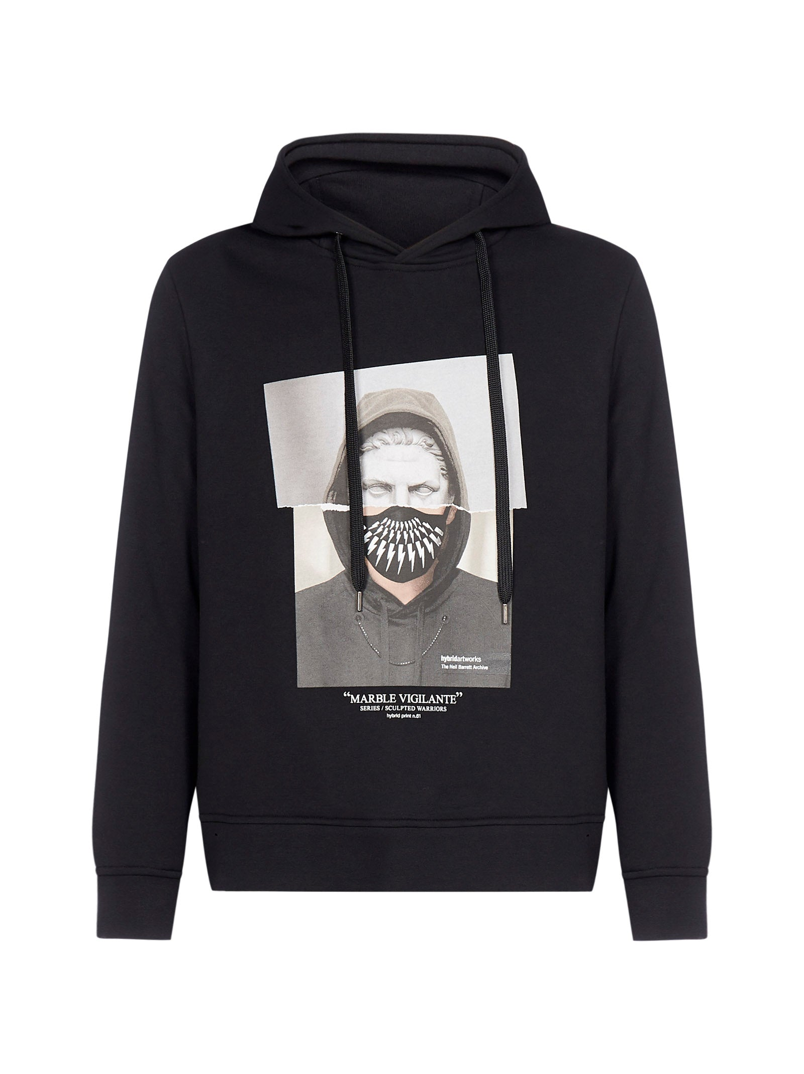 Neil Barrett NEIL BARRETT GRAPHIC PRINTED HOODIE