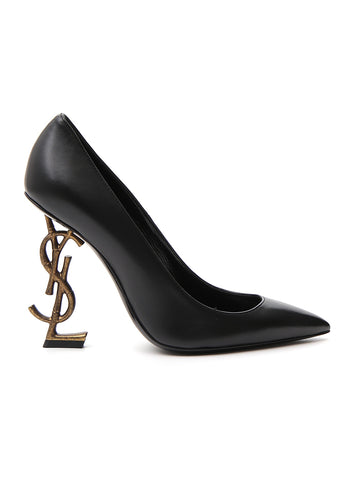 Saint Laurent Pointed Monogram Heels