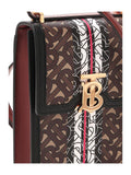 Burberry Monogram Stripe Print Crossbody Bag