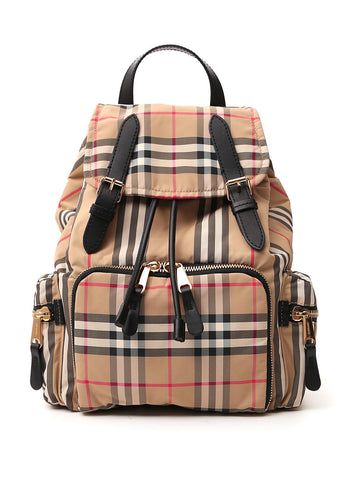 Burberry Medium Vintage Check Rucksack