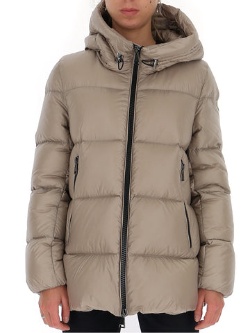 Moncler Seritte Logo Patch Padded Jacket