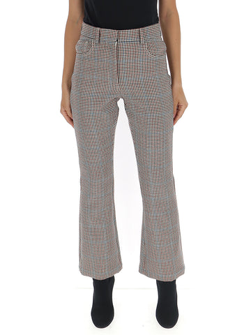 Off-White Houndstooth Flared Pants