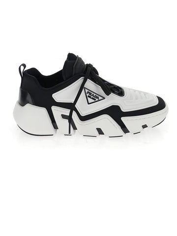 Prada Logo Plaque Chunky Sole Sneakers