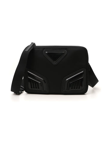 Prada Triangle Logo iPad Bag