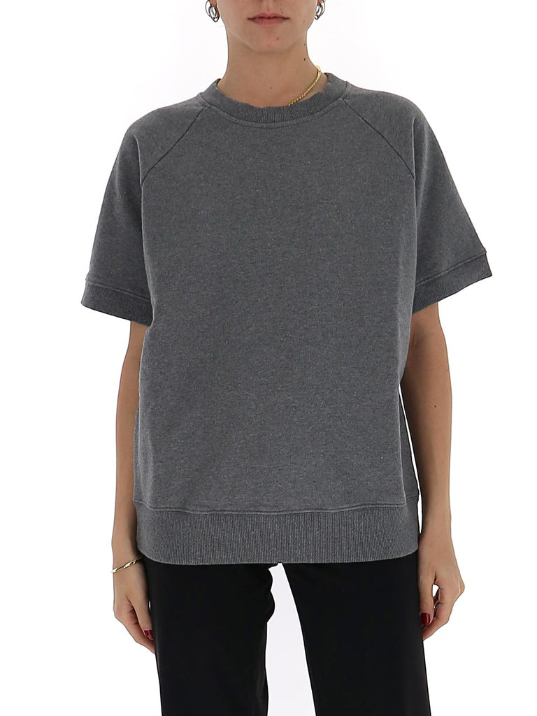 Mm6 Maison Margiela Short-Sleeve Sweatshirt