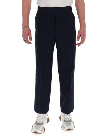 Thom Browne Striped Straight-Leg Trousers