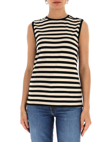 'S Max Mara Striped Sleeveless Top