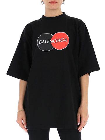 Balenciaga Uniform Oversized T-Shirt