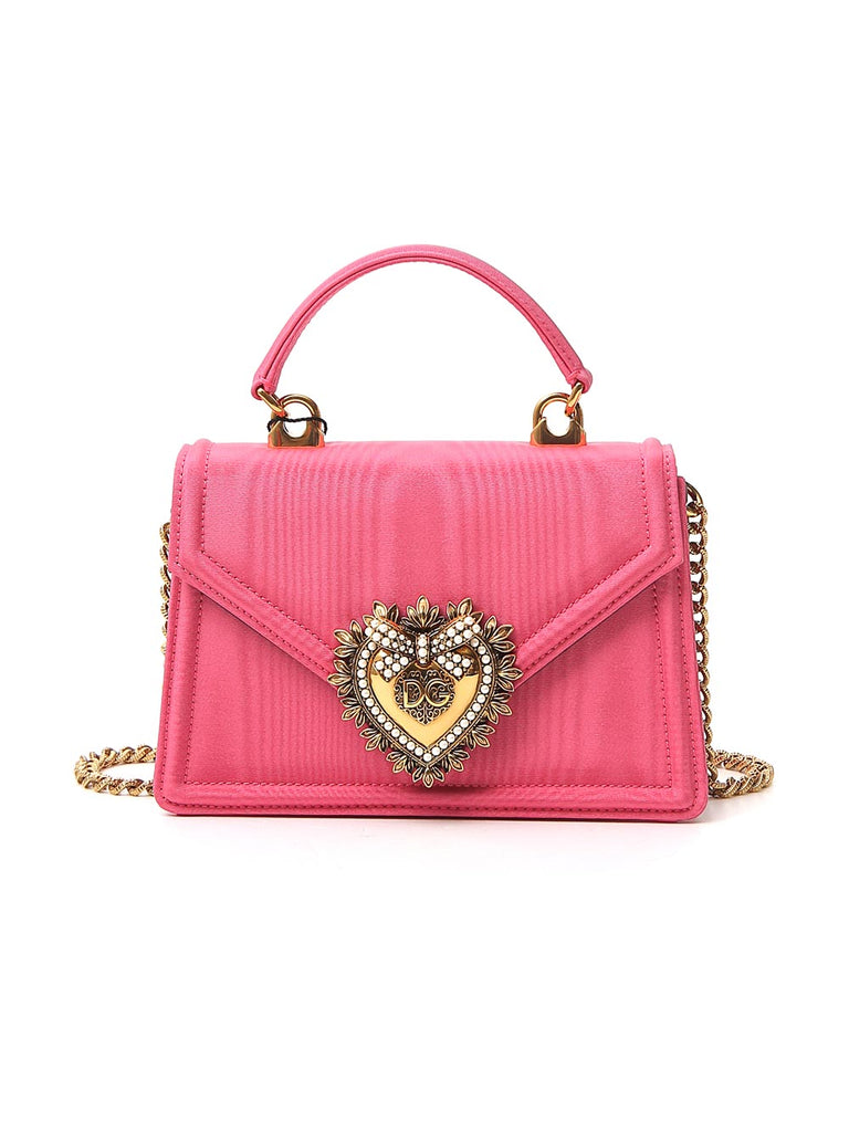 Dolce & Gabbana Devotion Mini Top Handle Crossbody Bag