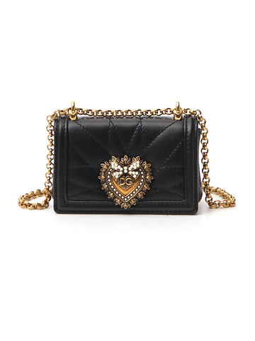 Dolce & Gabbana Micro Devotion Shoulder Bag