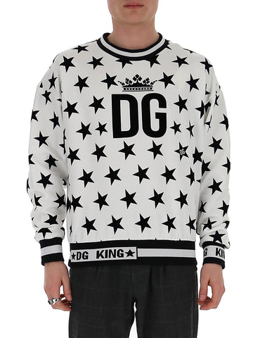 Dolce & Gabbana Star Print Sweater