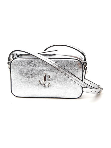 Jimmy Choo Hale Logo Plaque Shoulder Bag