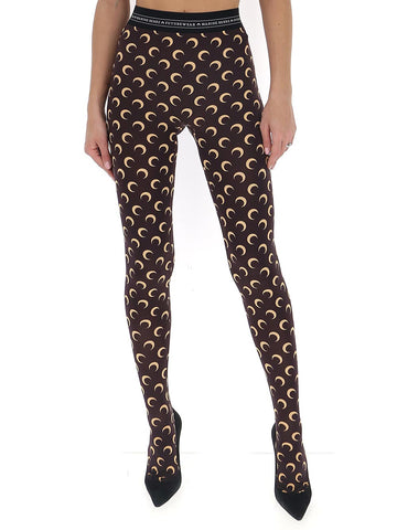 Marine Serre Moon Printed Tights