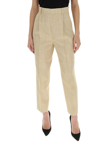 Max Mara High-Waisted Straight Leg Trousers