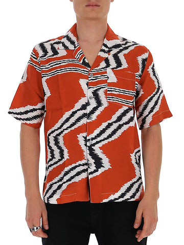 Missoni Abstract Patterned Short-Sleeve Shirt