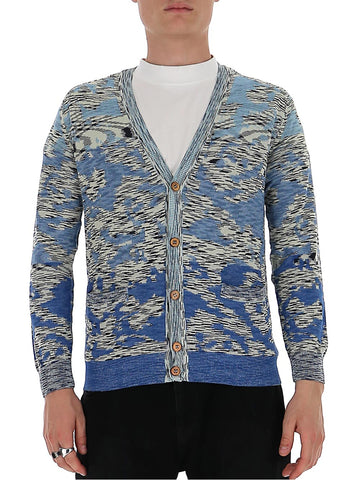 Missoni Jacquard V-Neck Cardigan