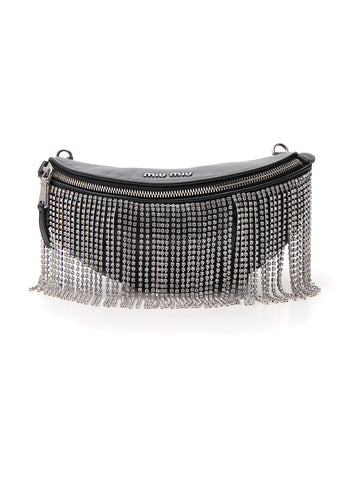 Miu Miu Embellished Belt Bag