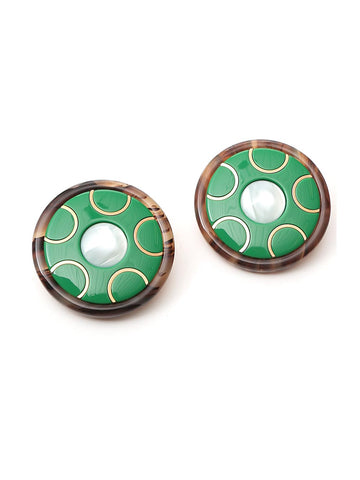 Miu Miu Circle Earrings
