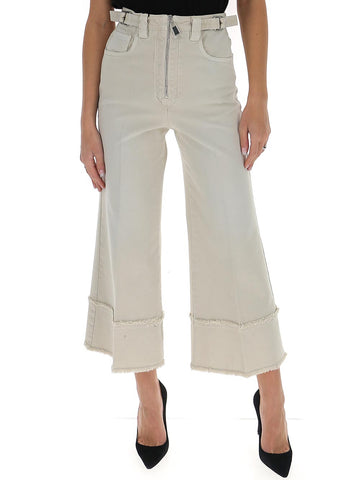 Miu Miu Cropped Flared Jeans
