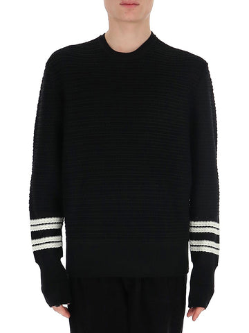 Neil Barrett Contrast Hem Sweater