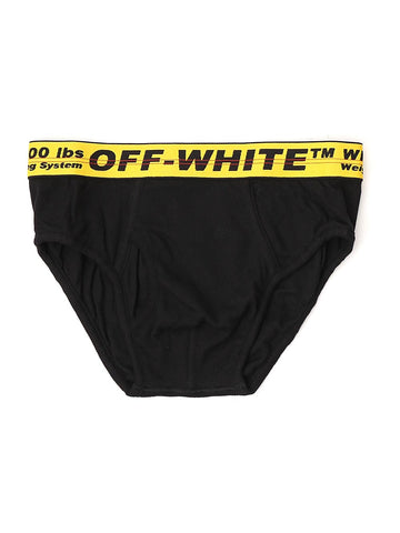 Off-White Logo Waistband Briefs