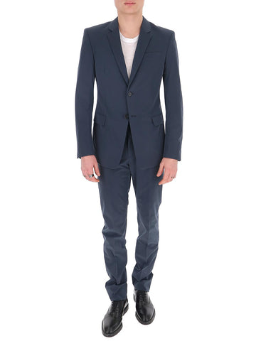 Prada Single Breasted Fitted Suit