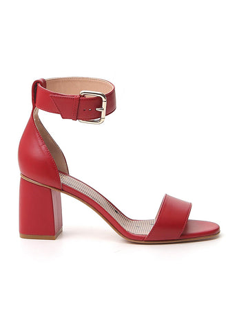 Red Valentino Block Heel Sandals