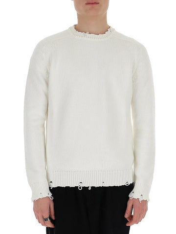 Saint Laurent Frayed Sweater