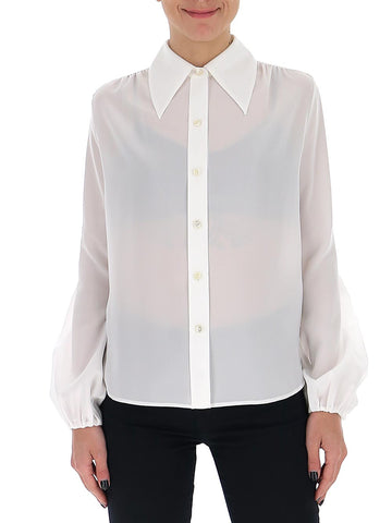 Saint Laurent Balloon Sleeve Shirt
