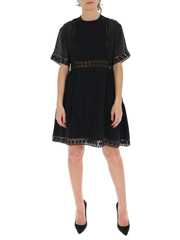 See By Chloé Embroidered Mini Dress