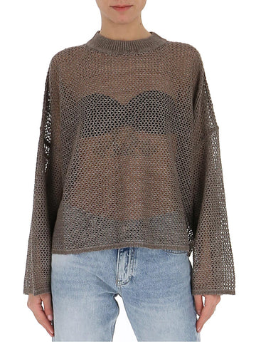 See By Chloé Crochet Logo Sweater