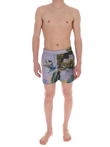 Valentino Printed Swim Shorts