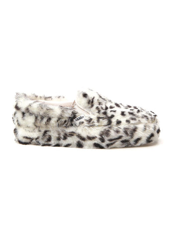 Vans Classic 98 Furry Detail Slip On Sneakers