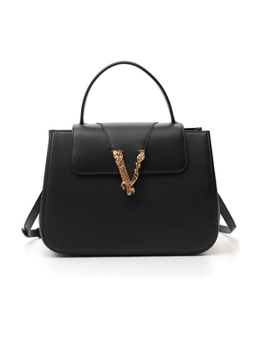 Versace Virtus Top Handle Top Handle Bag