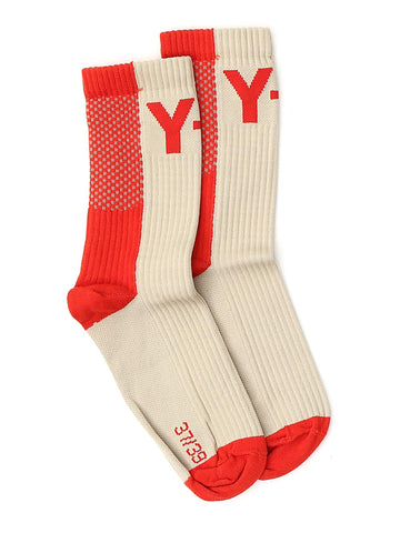 Y-3 Colour Block Logo Socks