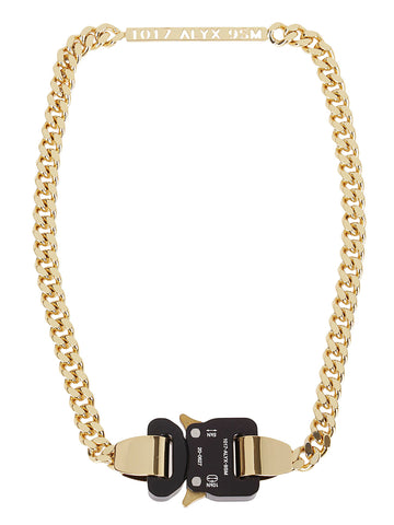 1017 ALYX 9SM 1017 Buckle Necklace