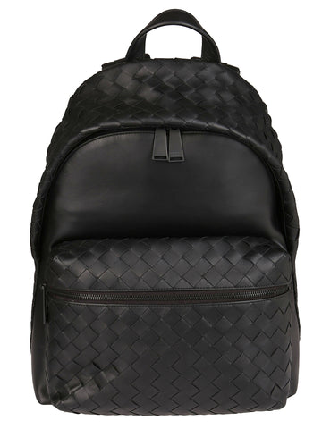 Bottega Veneta Zipped Front Pocket Backpack